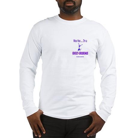 WOO HOO GREAT-GRANDMA Long Sleeve T-Shirt