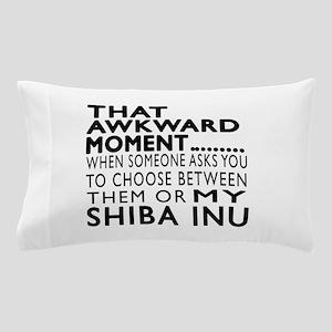 Awkward Shiba Inu Dog Designs Pillow Case