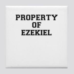 Property of EZEKIEL Tile Coaster