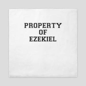Property of EZEKIEL Queen Duvet