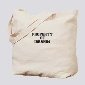 Property of IBRAHIM Tote Bag