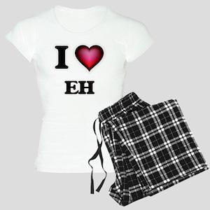 I love EH Women's Light Pajamas