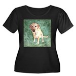 Southern Yellow Lab Women's Plus Size Scoop Neck D