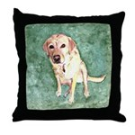 Southern Yellow Lab Throw Pillow