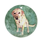 Southern Yellow Lab Ornament (Round)