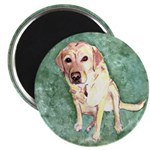 Southern Yellow Lab Magnet