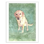 Southern Yellow Lab Small Poster