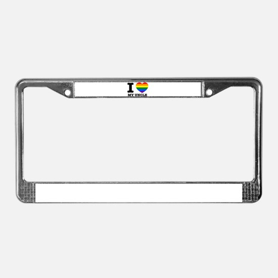 I heart designs License Plate Frame