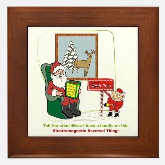 Santa 2012 Framed Tile
