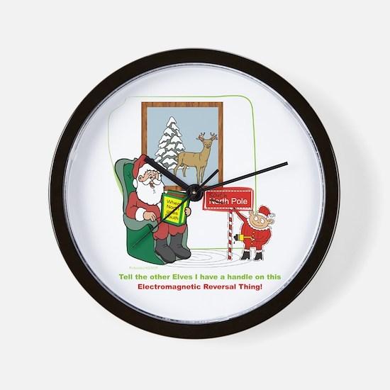 Santa 2012 Wall Clock