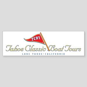 Tahoe Classic Boat Tours Bumper Sticker