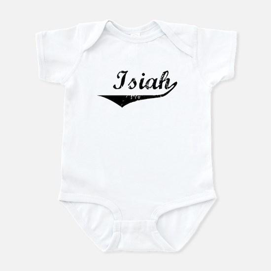Isiah Vintage (Black) Infant Bodysuit
