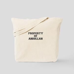 Property of ABDULLAH Tote Bag