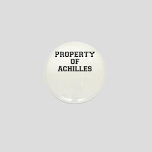 Property of ACHILLES Mini Button