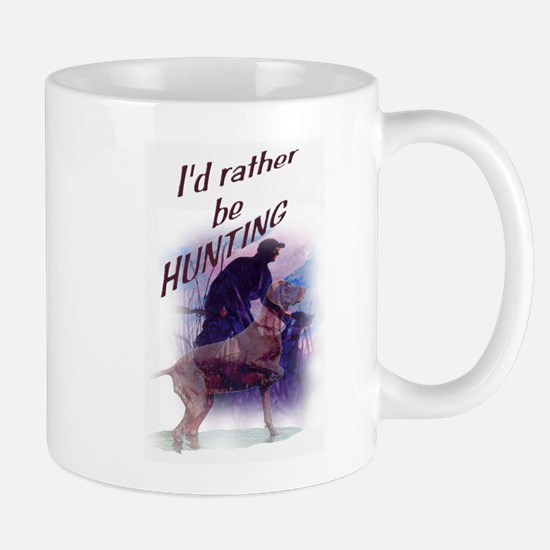 hunting dog Mugs