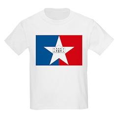 San Antonio Flag Kids T-Shirt