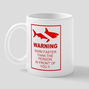 Shark Warning Mug