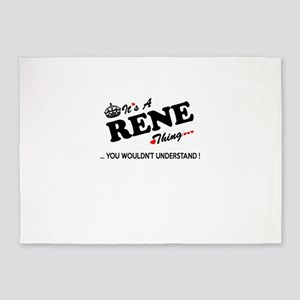 RENE thing, you wouldn't understand 5'x7'Area Rug