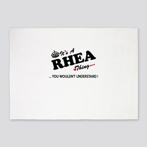 RHEA thing, you wouldn't understand 5'x7'Area Rug