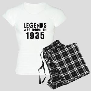 Legends Are Born In 1935 Women's Light Pajamas