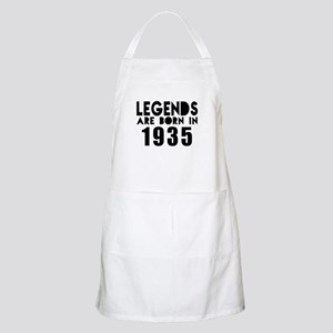 Legends Are Born In 1935 Light Apron