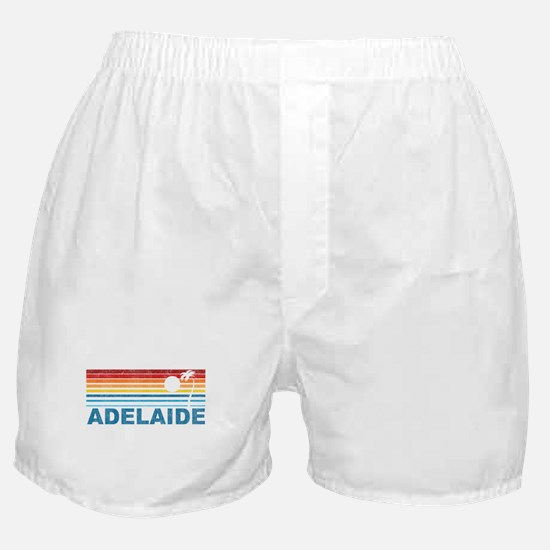 Retro Adelaide Palm Tree Boxer Shorts
