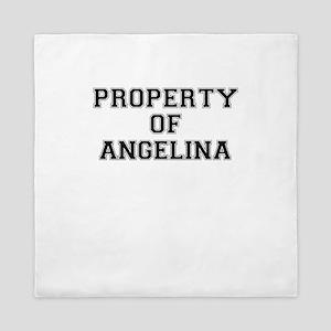 Property of ANGELINA Queen Duvet