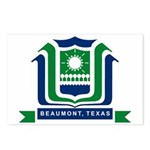 Beaumont Flag Postcards (Package of 8)
