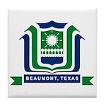 Beaumont Flag Tile Coaster
