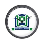 Beaumont Flag Wall Clock