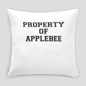 Property of APPLEBEE Everyday Pillow