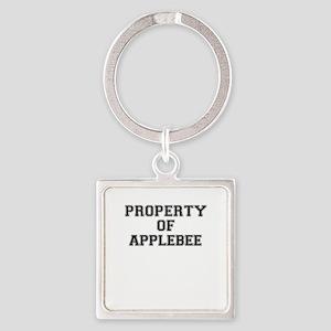 Property of APPLEBEE Keychains