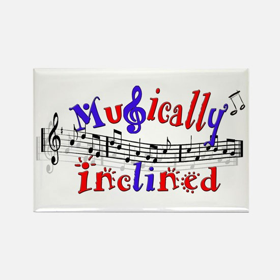 Musically Inclined Rectangle Magnet