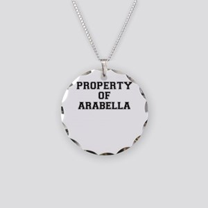 Property of ARABELLA Necklace Circle Charm