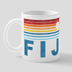 Retro Fiji Palm Tree Mug