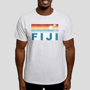 Retro Fiji Palm Tree Light T-Shirt