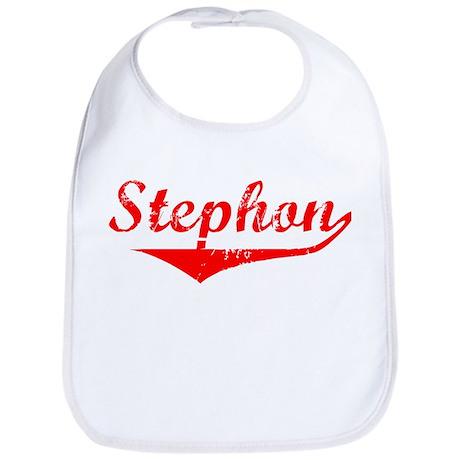 Stephon Vintage (Red) Bib