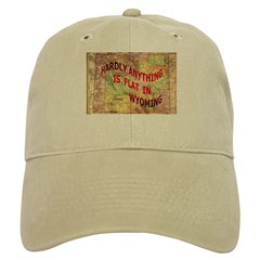 Flat Wyoming Baseball Cap