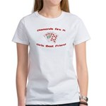 Diamonds Are A Girl's Best Friend Women's T-Shirt