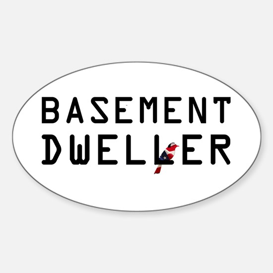 Basement Dweller - Bernie Bird Decal