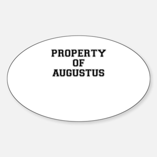 Property of AUGUSTUS Decal