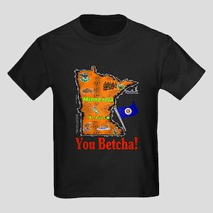 MN-Betcha! Kids Dark T-Shirt
