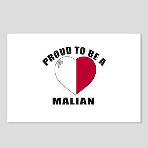 Malian Patriotic Designs Postcards (Package of 8)