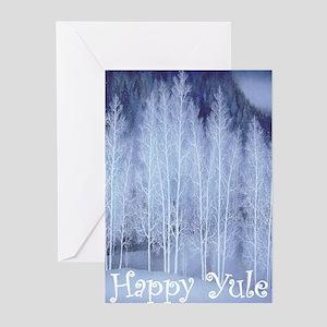 Pagan yule greeting cards cafepress yulecard greeting cards m4hsunfo