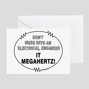 Electrical Engineer Greeting Card