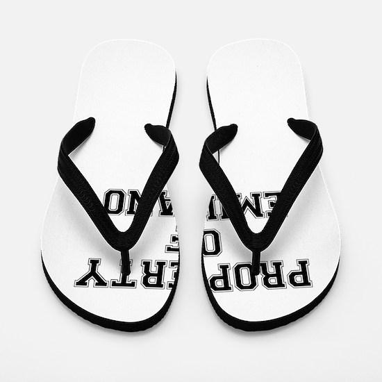 Property of EMILIANO Flip Flops