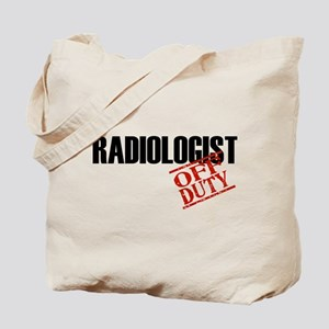 Off Duty Radiologist Tote Bag