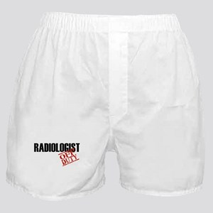 Off Duty Radiologist Boxer Shorts