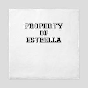 Property of ESTRELLA Queen Duvet