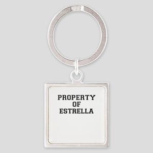 Property of ESTRELLA Keychains